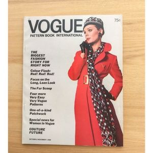 Vogue Pattern Book - October / November 1969